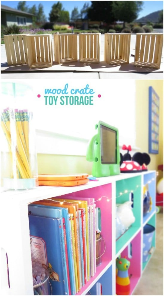 Decorative Toy Storage