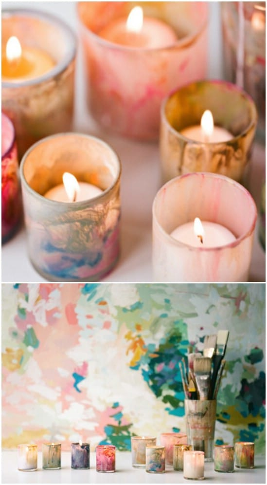12 Simple and Easy DIY Candles And Votives