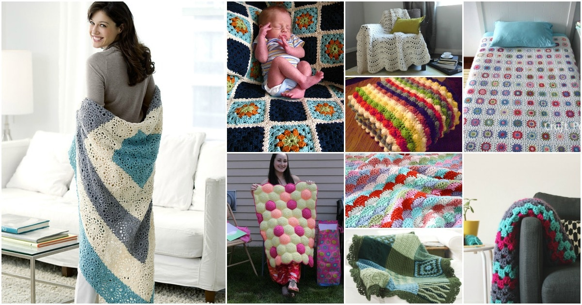 Knitting crocheting archives diy crafts 25 quick and easy crochet blanket patterns for beginners dt1010fo