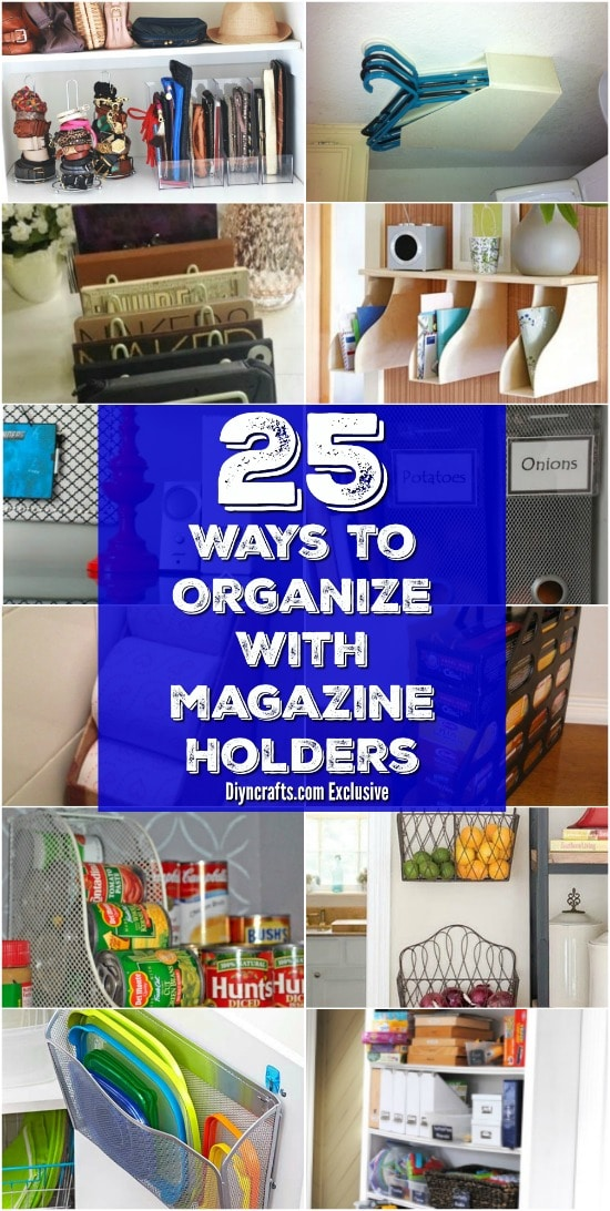 25 Brilliant Home Organization Ideas With Magazine Racks