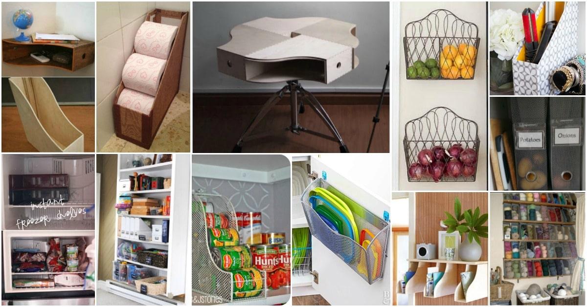 25 Brilliant Home Organization Ideas With Magazine Racks
