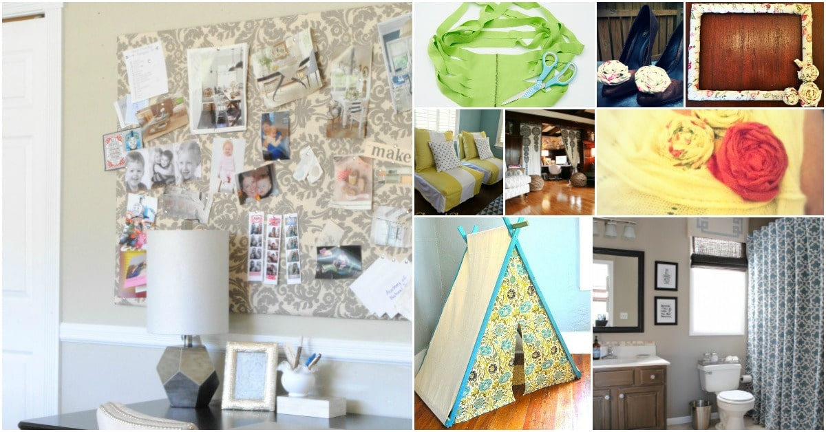 6 Ways To Turn Your House Into A Productive Home Environment: 20 Repurposing Ideas To Make Good Use Of Old Curtains