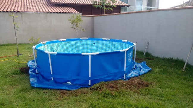 how to make an aboveground pool look incredible
