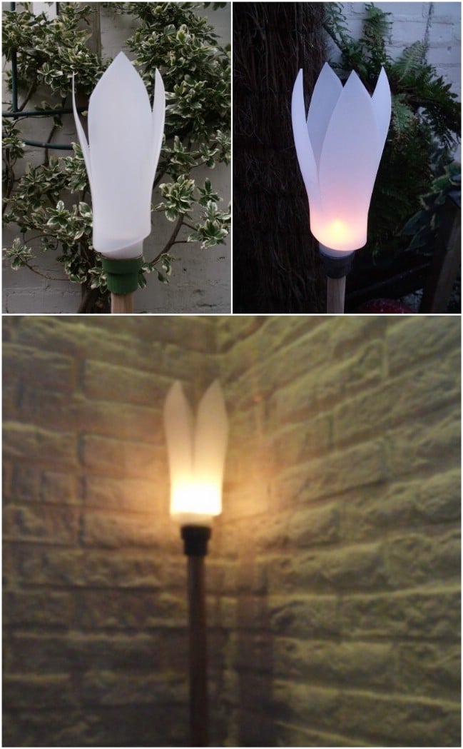 Elegant DIY Garden Light