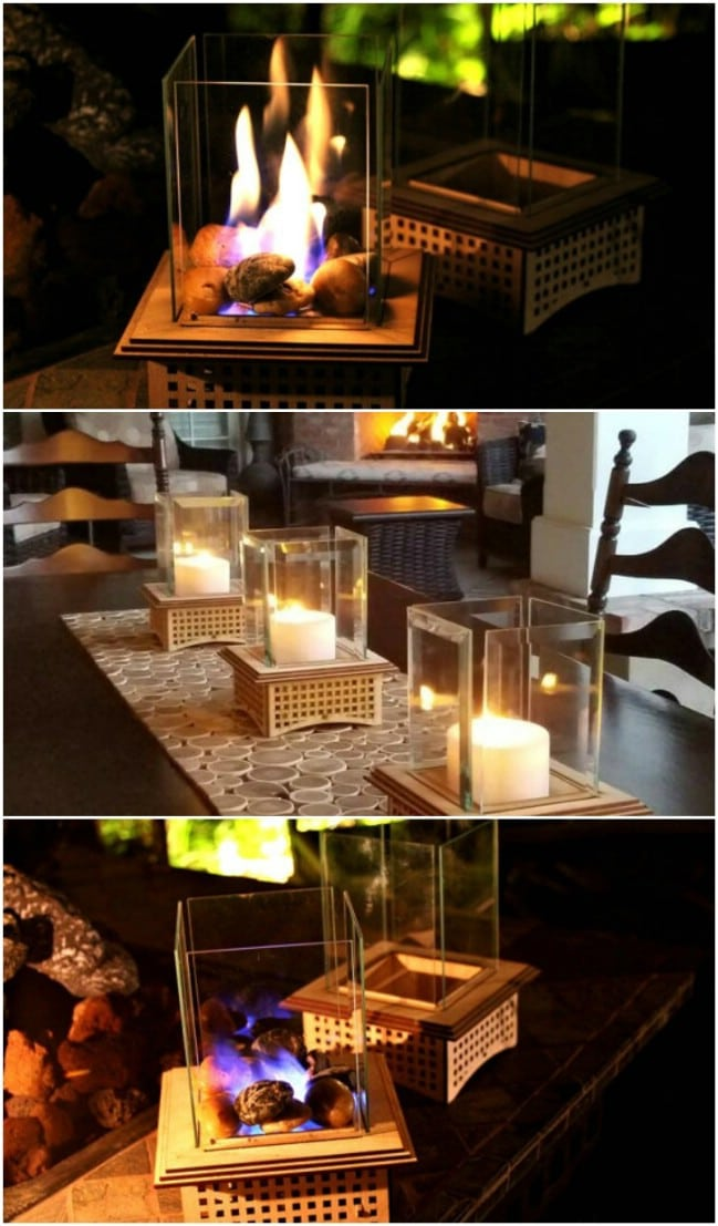 Diy Fire Pit Table Propane