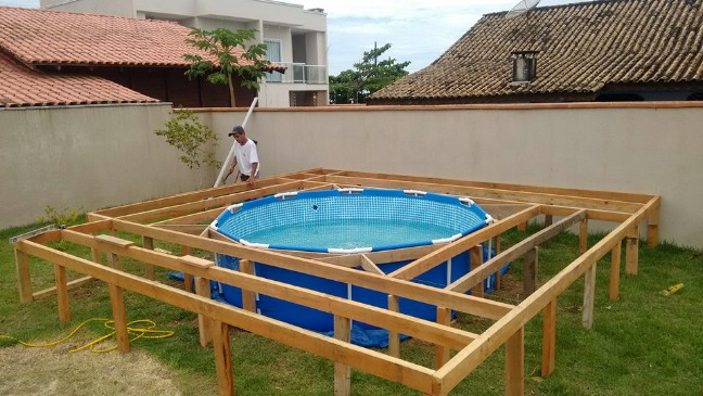 How To Make An Above Ground Pool Look Incredible