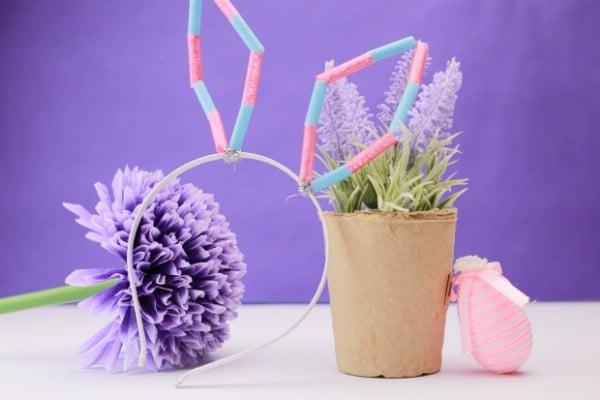 Cute DIY Easter Bunny Ears Craft