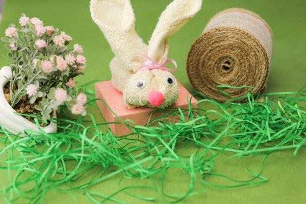 Adorable Repurposed Towel Easter Bunnies