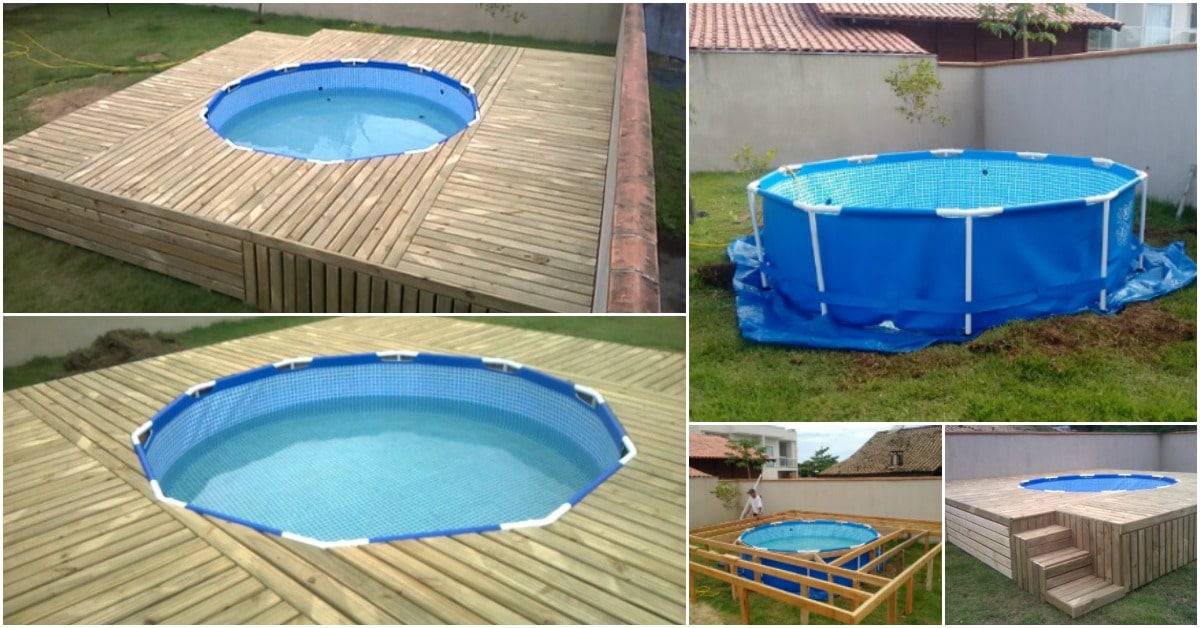 Diy backyard pool this is an unbelievably beautiful for Diy garden pool