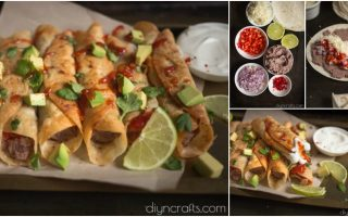 Black Bean Flautas – This Simple Appetizer Is Quick, Easy, And Delicious