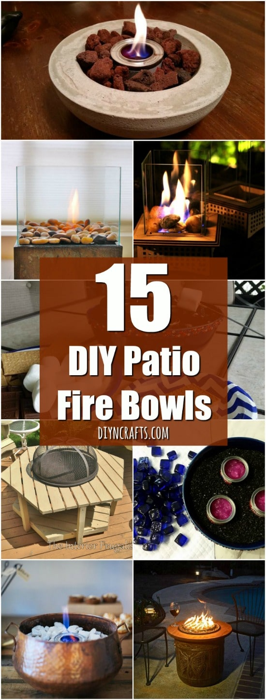 So I Started Gathering Ideas For How You Might Be Able To Make One Of These  Amazing Fire Bowls Yourself. Whether You Have A Large Patio, Small Deck, ...