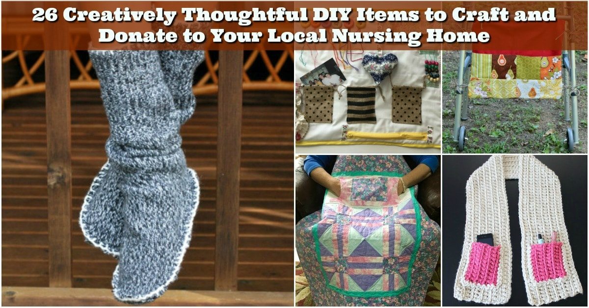 26 creatively thoughtful diy items to craft and donate to your 26 creatively thoughtful diy items to craft and donate to your local nursing home diy crafts negle Gallery
