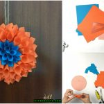 How to Make a Stunning Flowery Wreath Out of Nothing More Than Paper