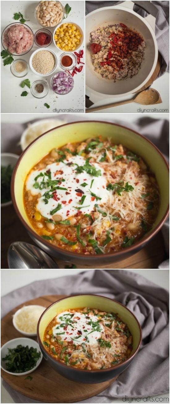 This Delicious Quinoa Chili Is The Perfect Potluck Dish