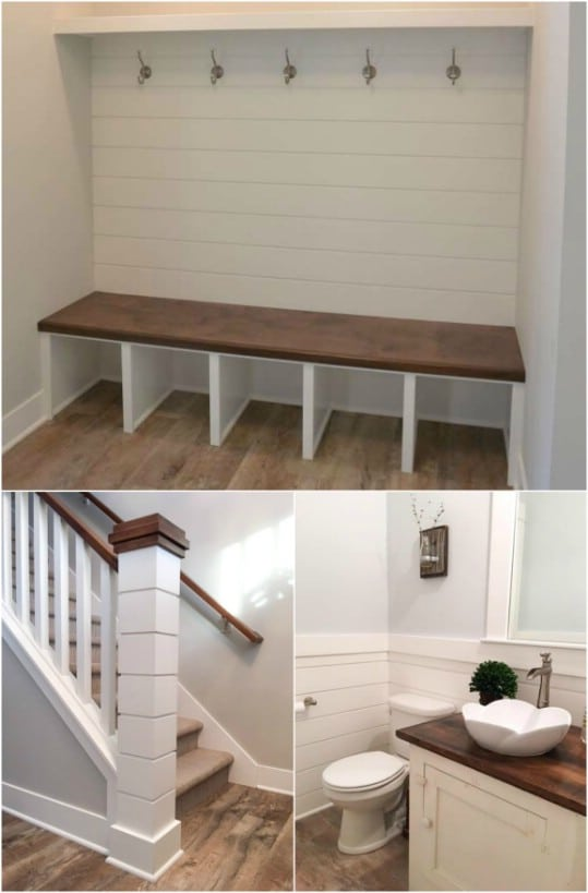 small attic bedroom ideas - 25 Rustic Shiplap Decor And Furniture Ideas For A