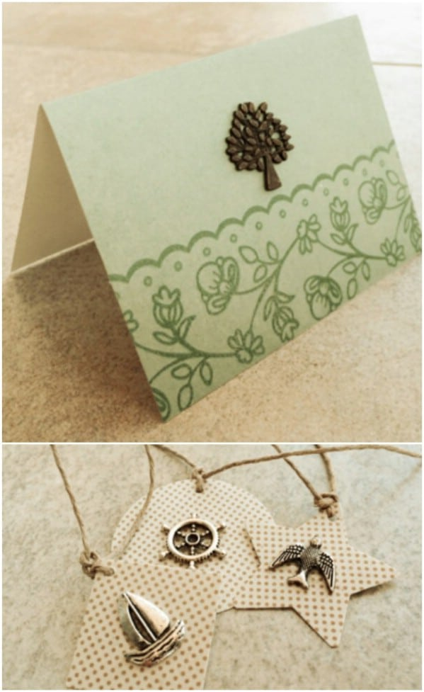Repurposed Jewelry Gift Tags