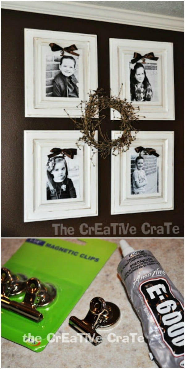 Decorative Cabinet Door Picture Frame & 25 DIY Projects Made From Old Cabinet Doors u2013 Itu0027s Time To Repurpose ...