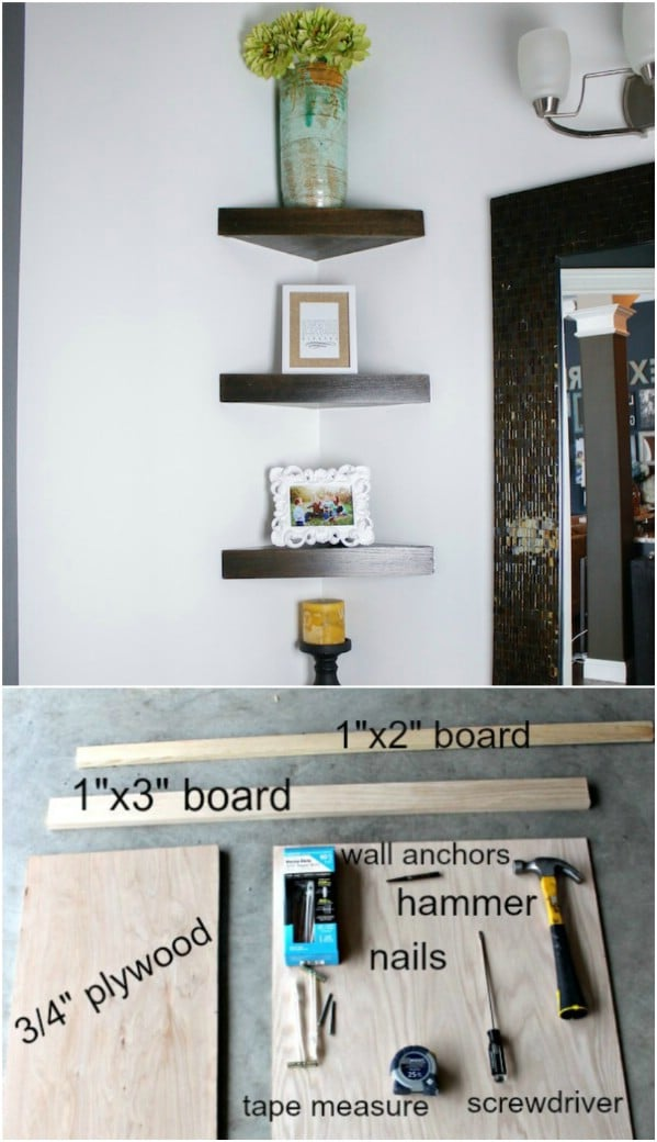 Put Corner Space To Use