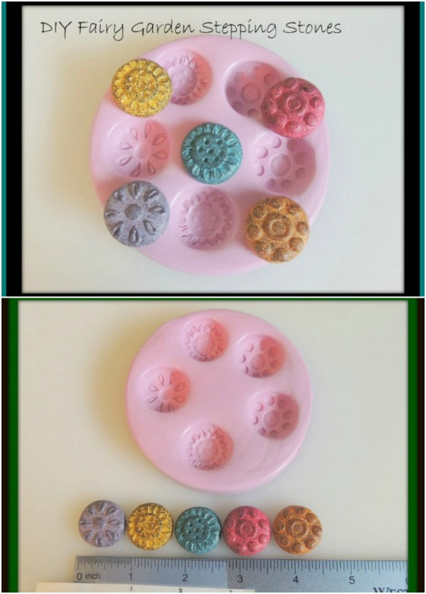 DIY Fairy Garden Stepping Stones