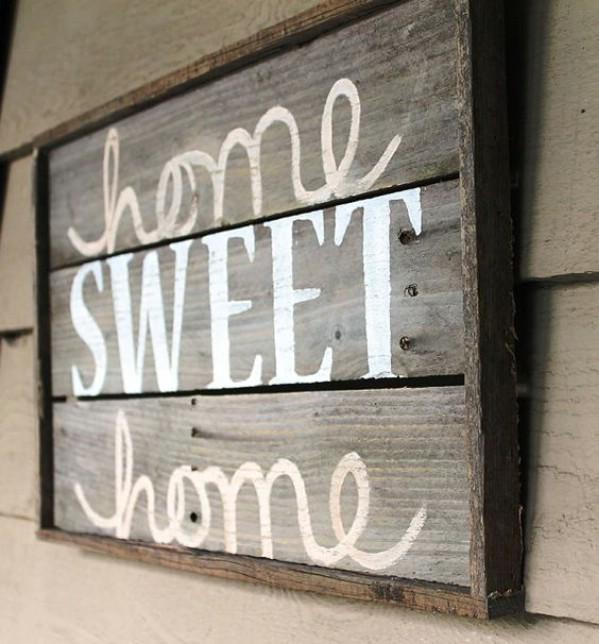 15 Great Diy Farmhouse Decor Ideas That You Must Try: Rustic Charm Home Decor:15 DIY Wood Sign Ideas