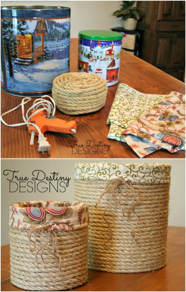 coffee can craft ideas 20 creative popcorn tin repurposing projects page 3669