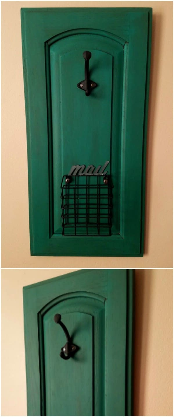 Delicieux Upcycled Cabinet Door Mail Holder