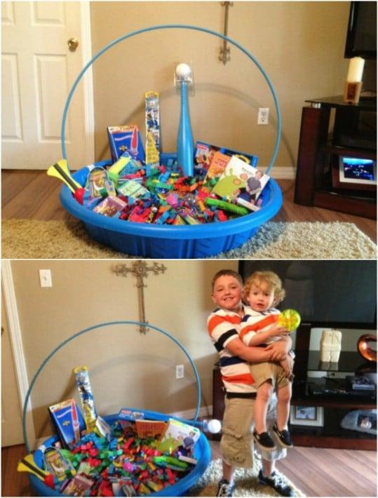 Massive DIY Easter Basket