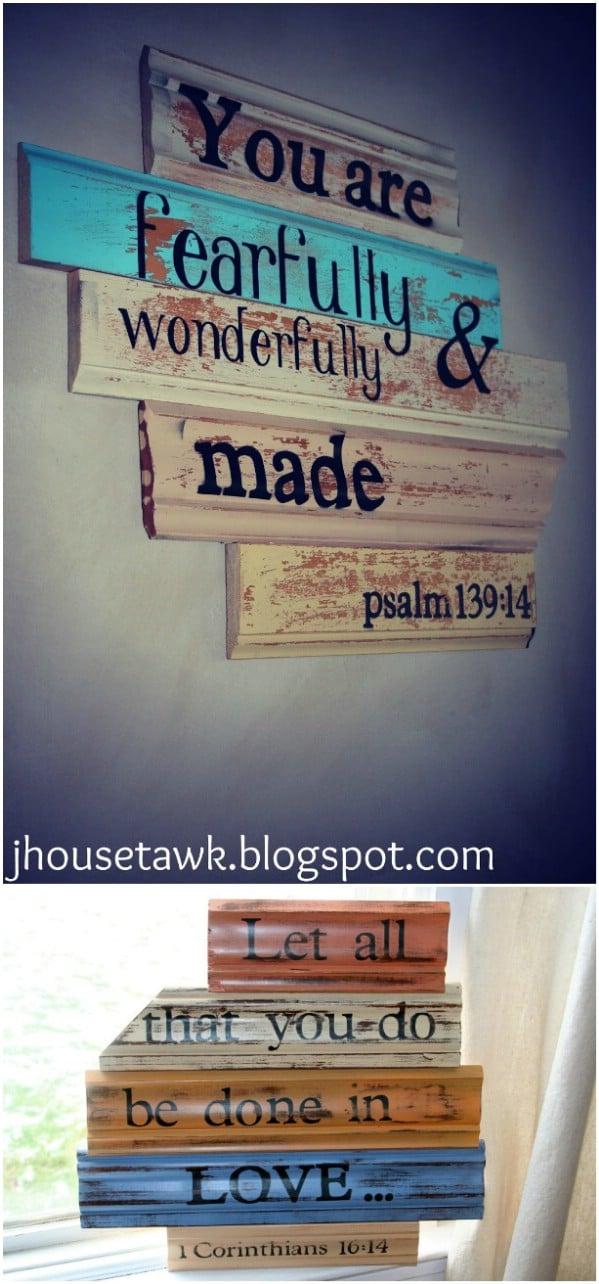 Farmhouse Pallet Headboard