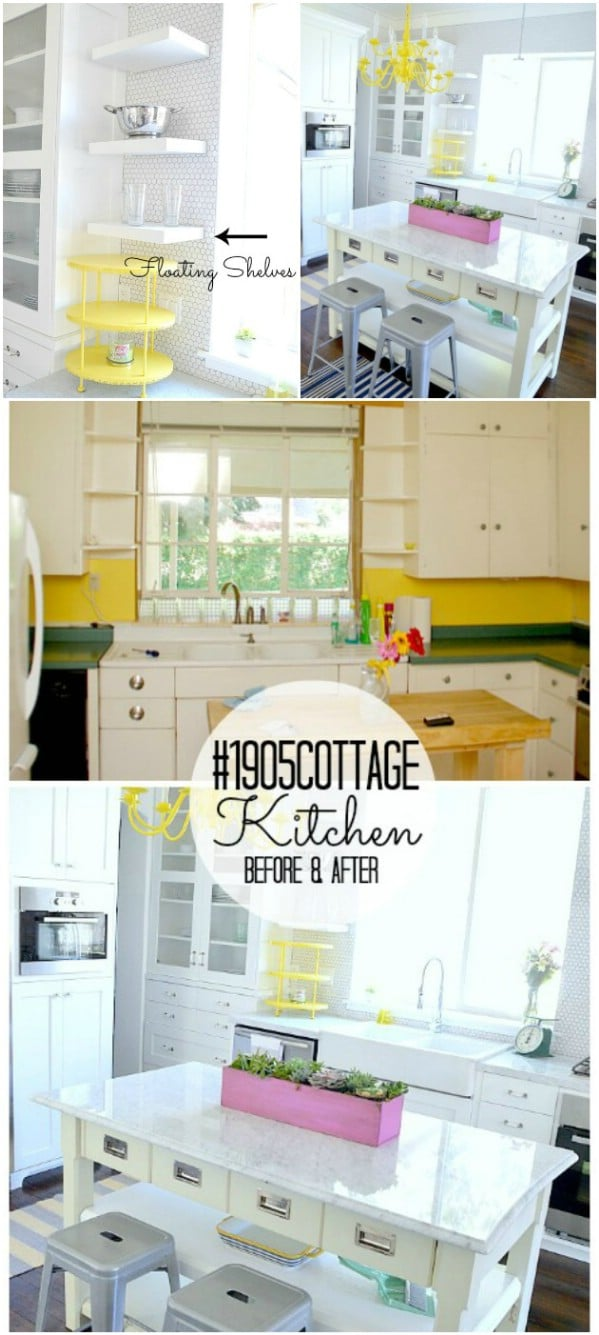 17 Inspiring DIY Kitchen Remodeling Ideas