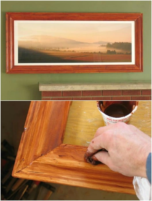 Homemade 2X4 Picture Frames