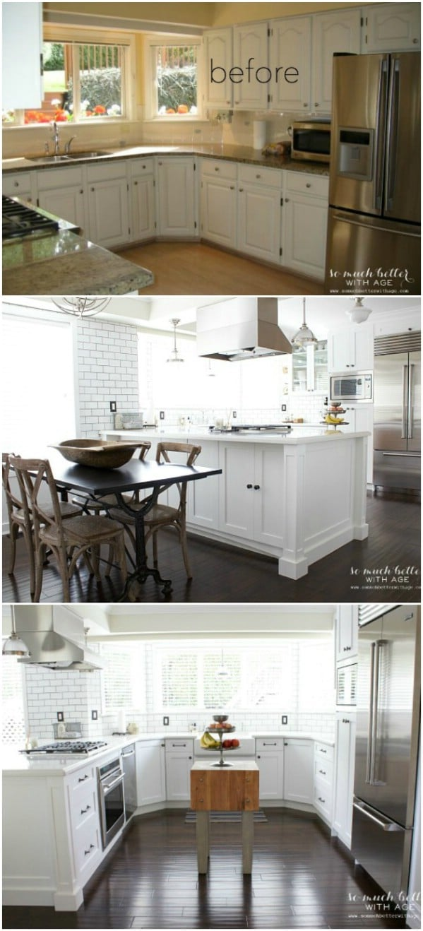 Industrial Vintage French Kitchen