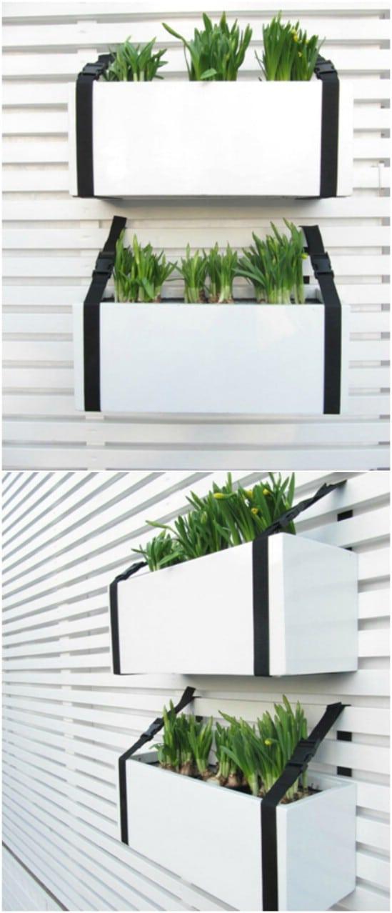 DIY Herb Wall Holder