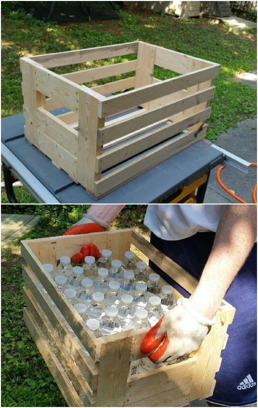 DIY Rustic Crate