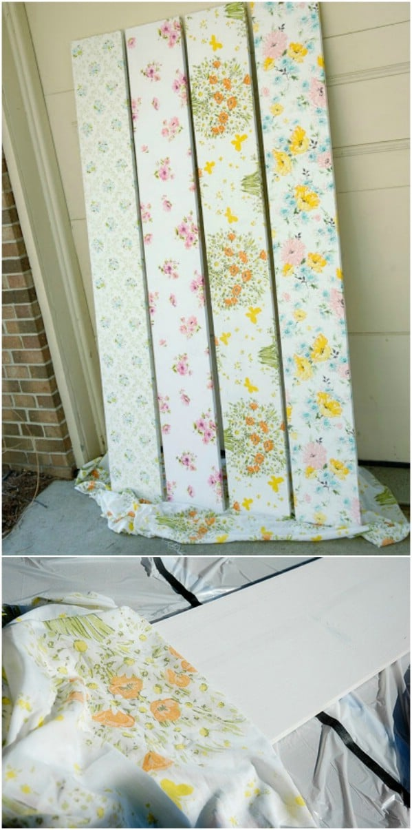 Easy DIY Sheet Shelf Covers