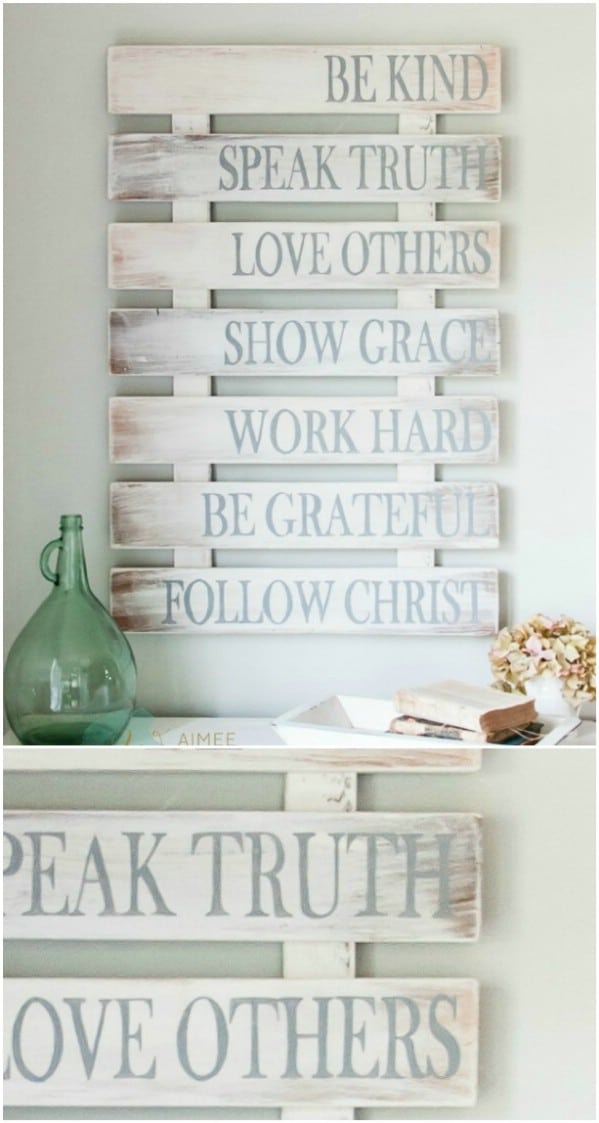 50 Wood Signs That Will Add Rustic Charm To Your Home Decor - DIY ...