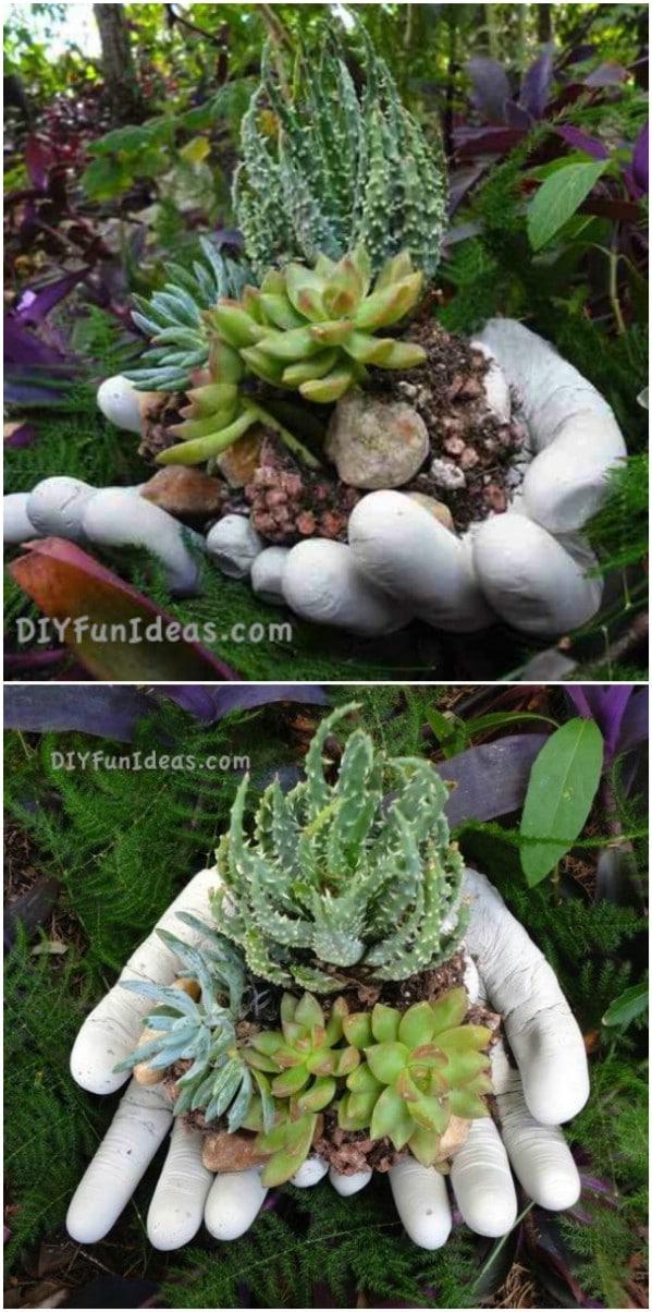 Handy Succulent Planter