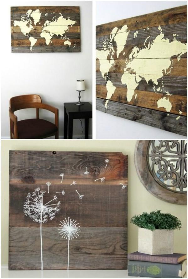 Rustic Charm Home Decor:15 DIY Wood Sign Ideas