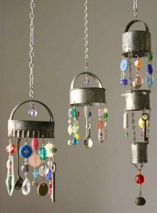 Vintage Cookie Cutter Wind Chimes