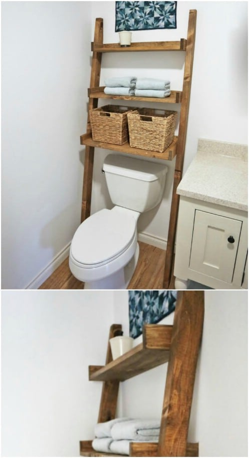 Over The Toilet Storage Shelf