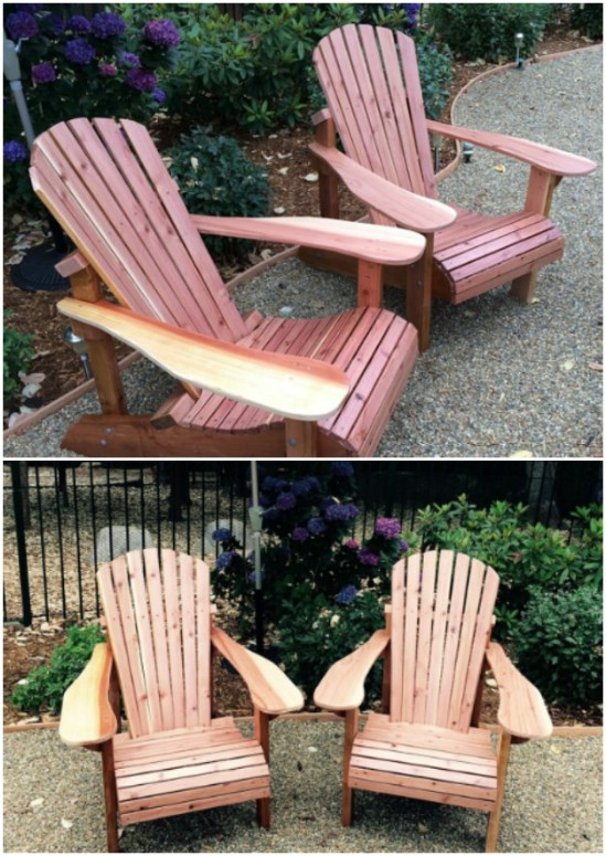 Gorgeous Adirondack Chairs