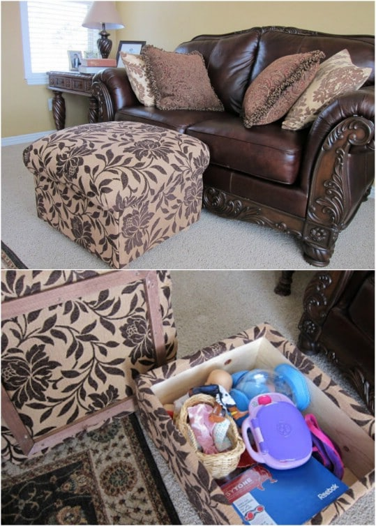 DIY Ottoman From Scratch