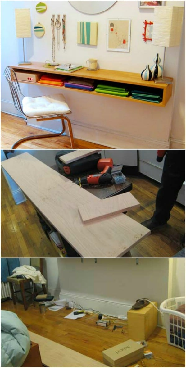 Make Floating Furniture