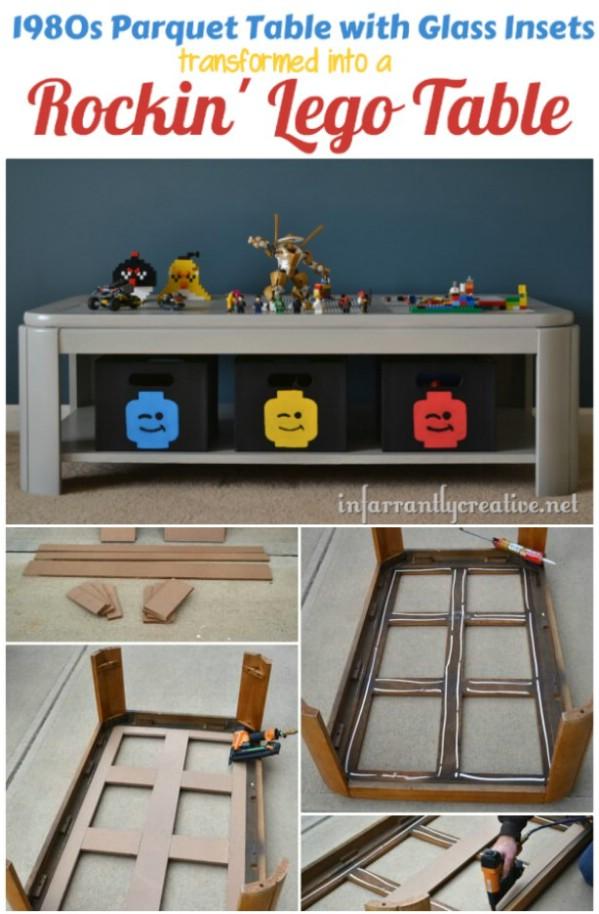 Parquet Table Lego Repurpose