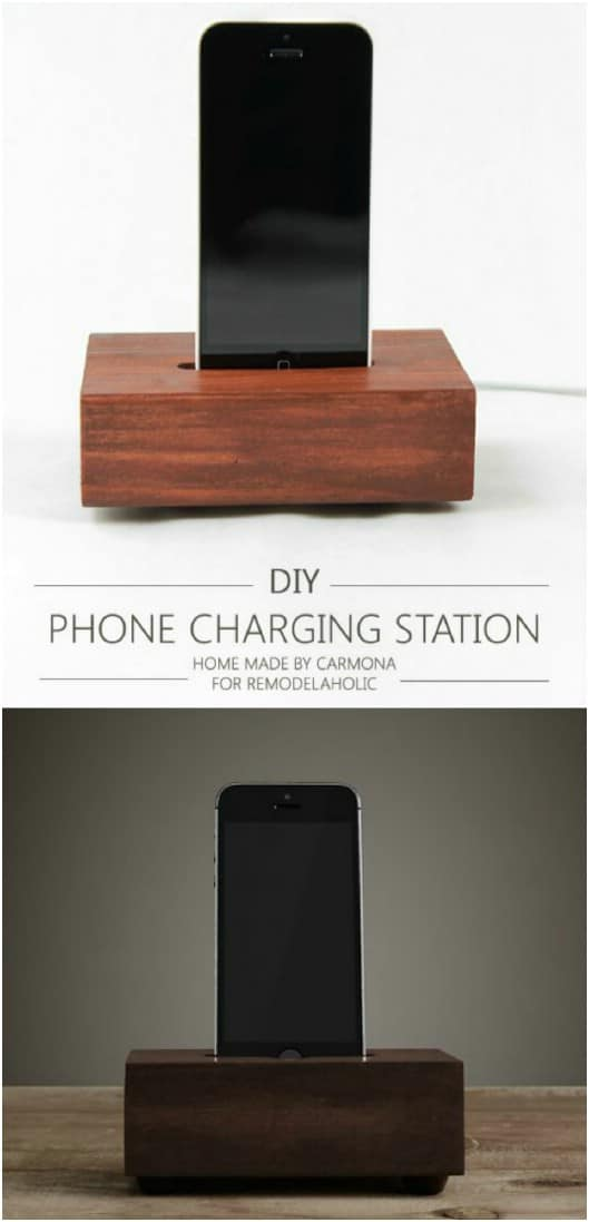 Easy Knockoff Charging Station