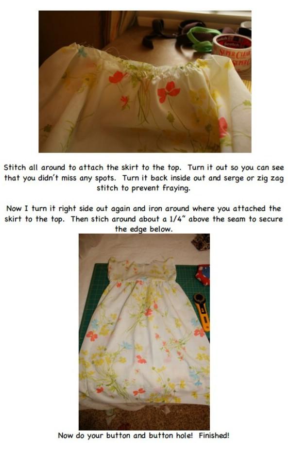 Easy Pillowcase Baby Nightgown DIY