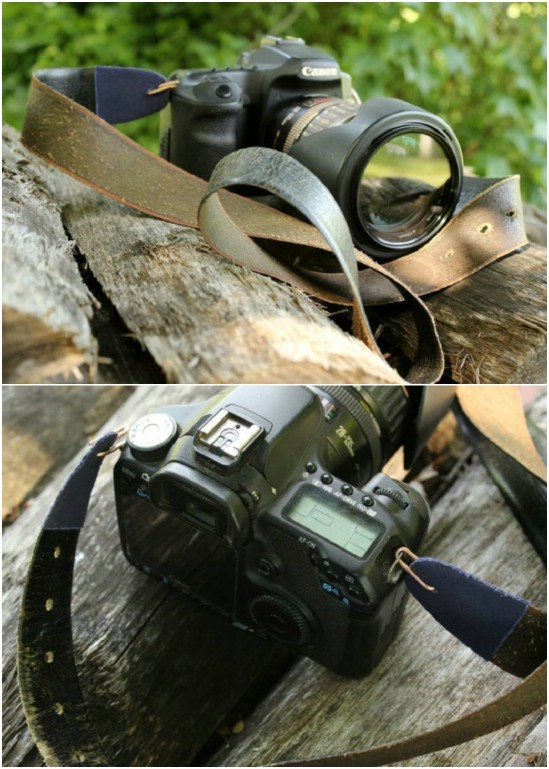 Cheap And Durable Leather Belt Camera Strap