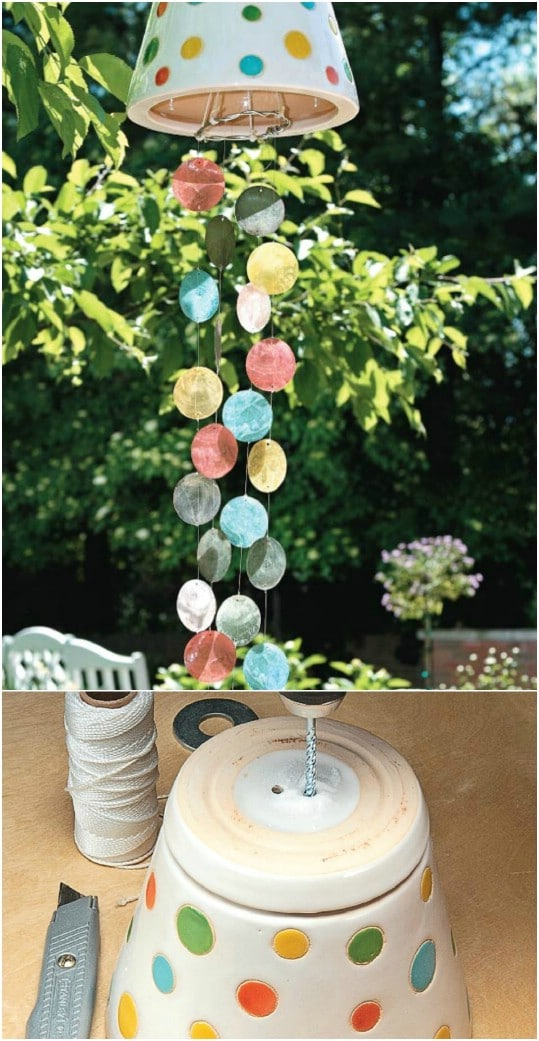 Easy DIY Colorful Wind Chime