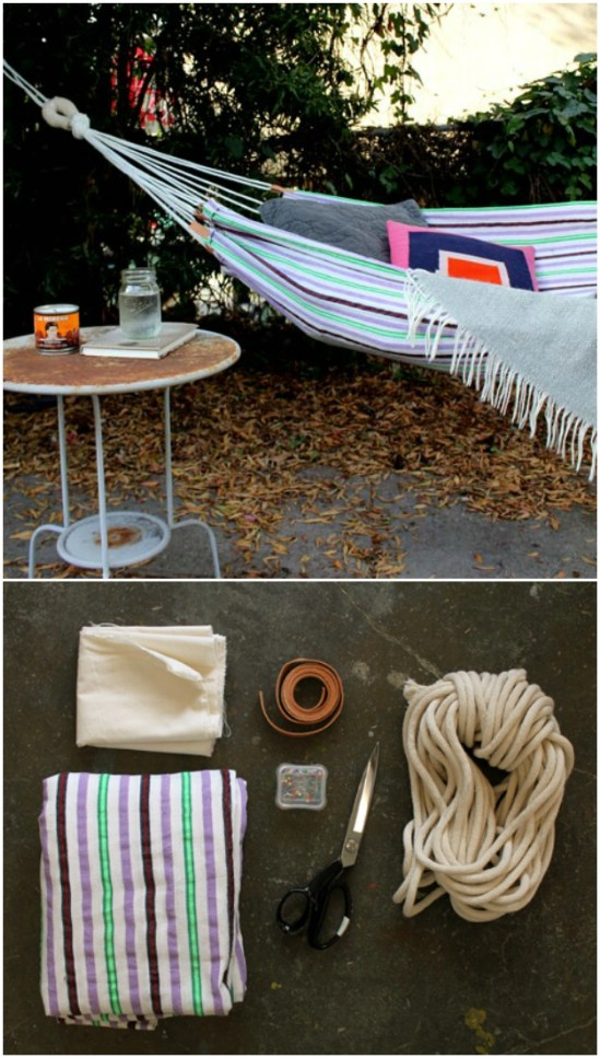 Easy DIY Hammock