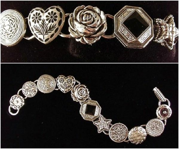 DIY Necklace Turned Bracelet