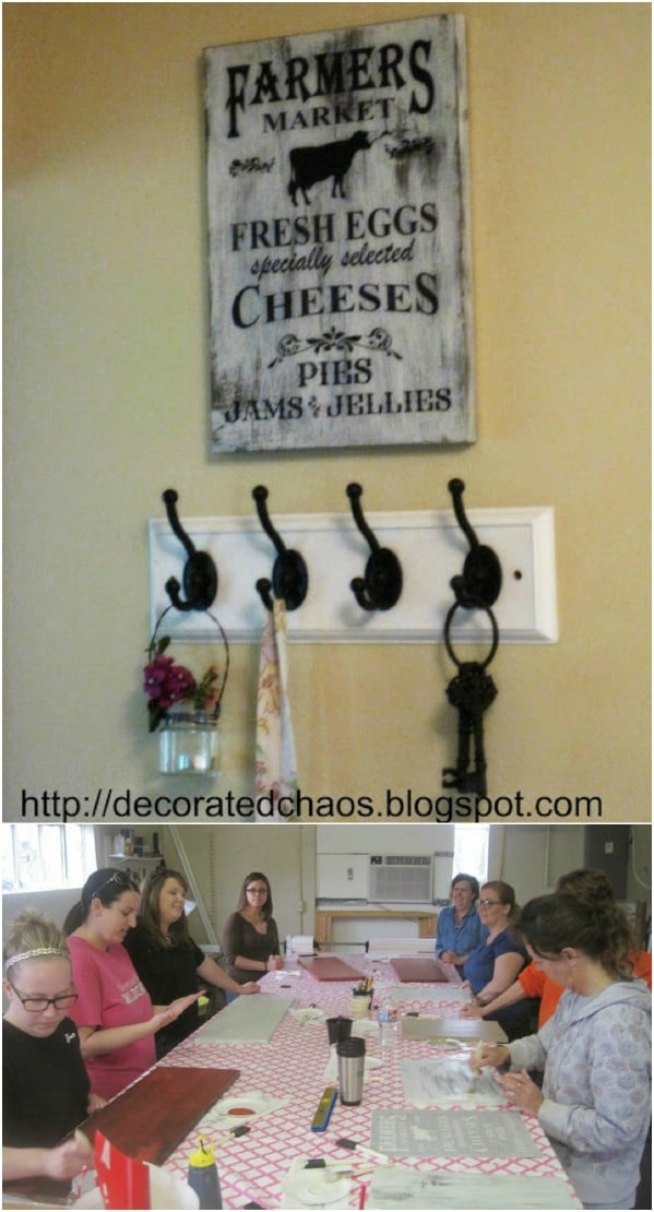 Great Rustic Farmhouse Kitchen Sign